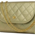 Chanel Iridescent Quilted Classic Flap 212567 Satchel