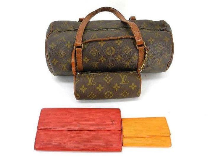 Louis Vuitton Papillon Set + 2 Wallets ( 4 Item Wholesale Set ) 211809 Monogram Satchel