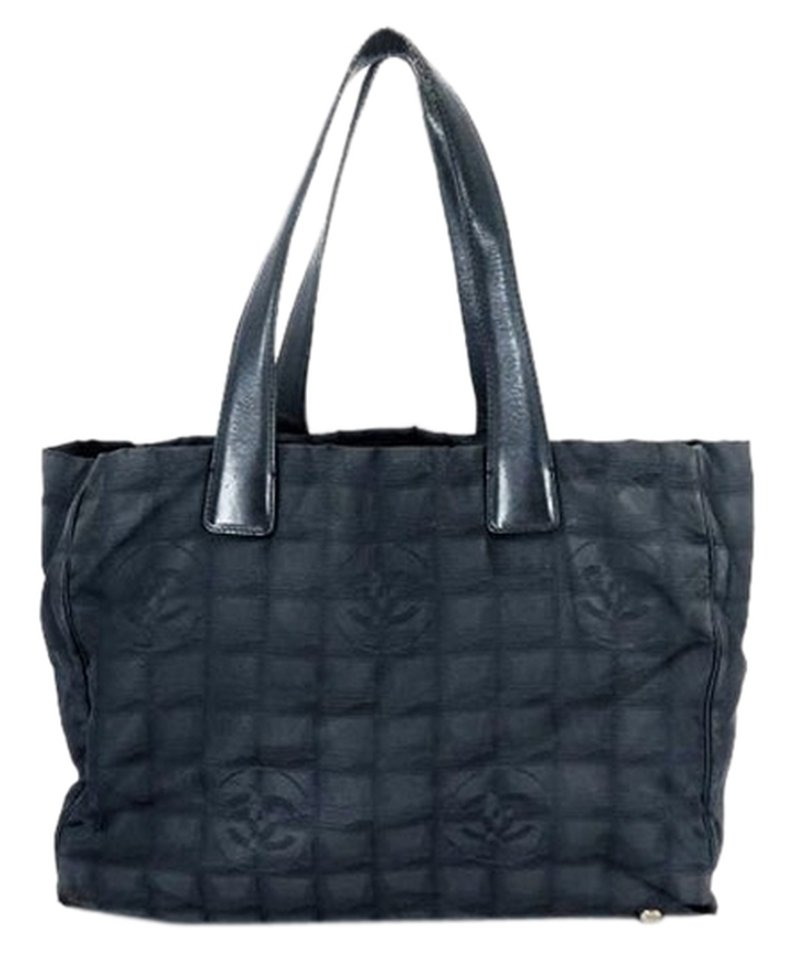 Chanel Quilted 212464 Black Tote Bag