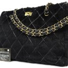 Chanel Quilted Fur Chain Tote 211695 Shoulder Bag