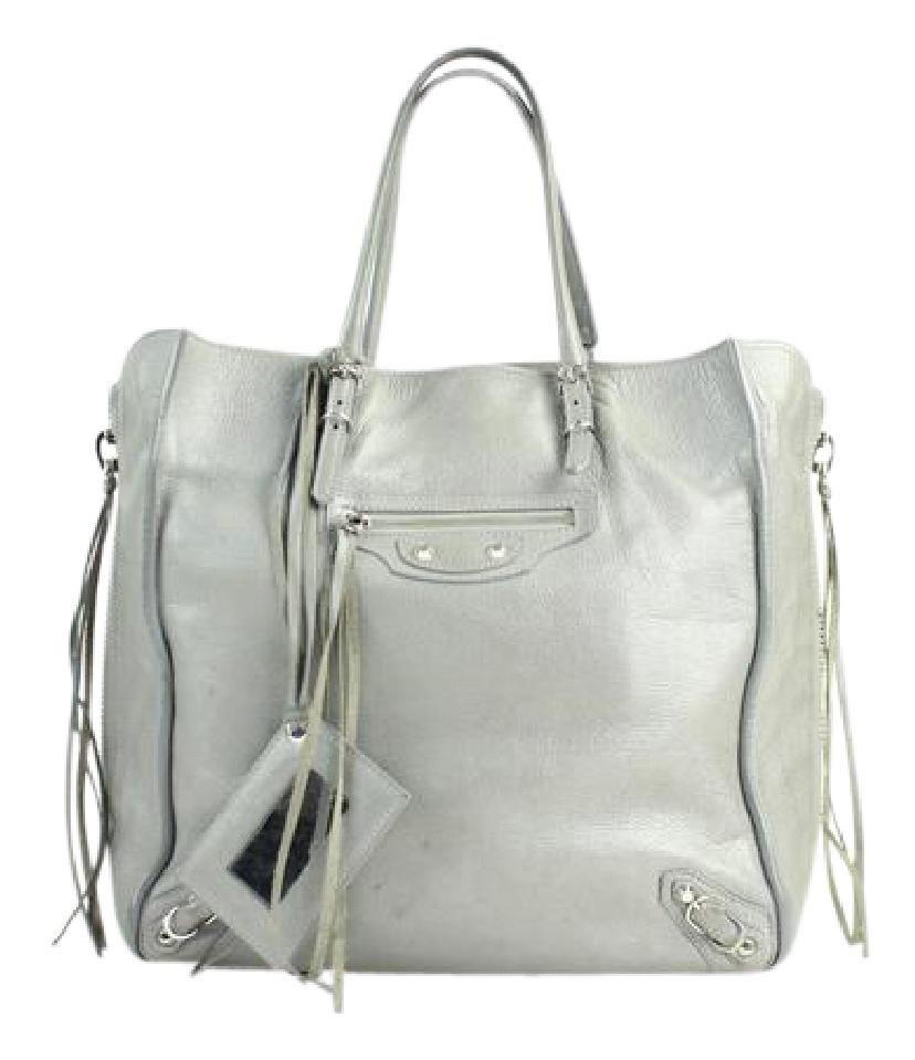 Balenciaga Papier A5 33bala12317 Grey Tote Bag