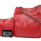 Chanel ( Extremely Rare ) Jumbo Logo Crossbody 213855 Shoulder Bag