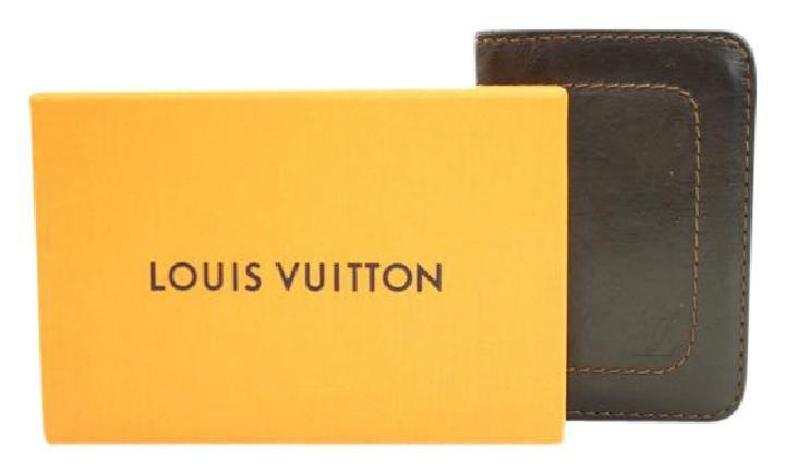 Louis Vuitton Leather Utah De Poscho Card Case 81LVA3117