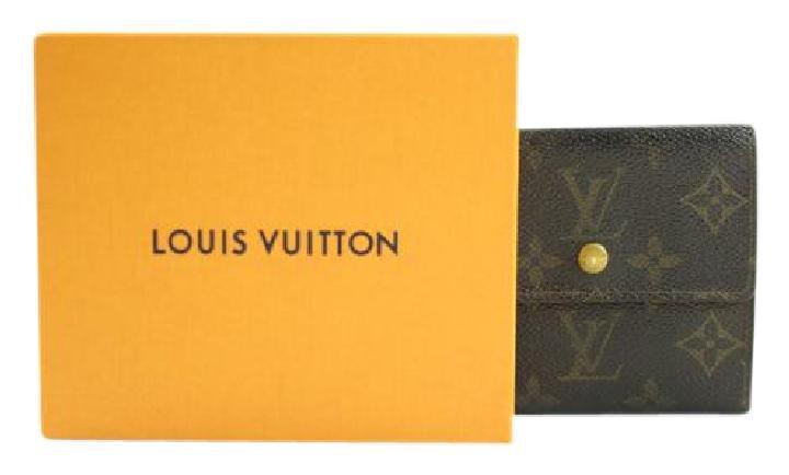 Louis Vuitton Monogram Elise Wallet 86LVA3117