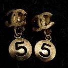 Chanel ( RARE ) 06P CC Dangle Earrings 214649
