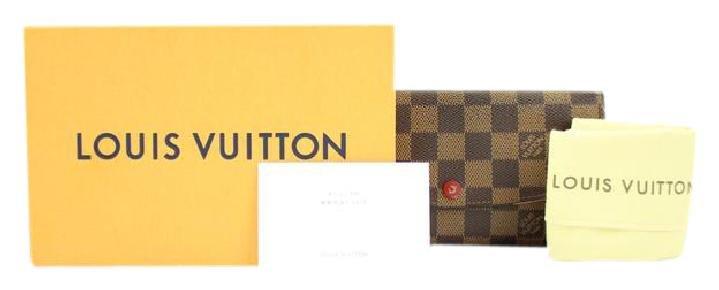 Louis Vuitton Portefeuille Emilie Bifold Damier Wallet C72LVA3917