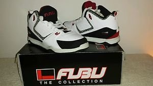 Men's FUBU White Shoes Size 7 1/2 New In Box
