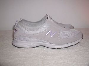New Balance Women's  Everlight Zip Walking Shoes,Grey/Purple Sz.10 (WW565)