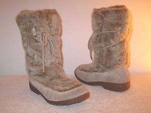 Sam Edelman Fur Winter Boots Size 9