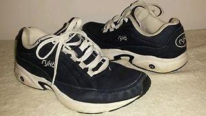 Ryka Navy Canvas Women's  Sneakers