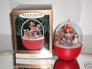 "Hallmark Motion & Magic ""Winnie the Pooh Parade"" Holiday/Christmas ornament"