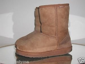 EMU,Short,Sheep Skin,Winter Boots,Size W-F7/M-H6
