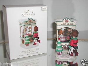 "Hallmark""Christmas Window 2010"",Patisserie,Bakery,Shop,Christmas Ornament,NIB"
