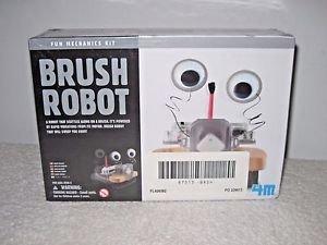 4M Brush Robot,Fun Mechanics Kit, New Sealed