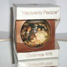 Schmid 1978 Heavenly Peace Christmas Ornament