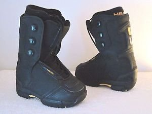 HEAD SNOWBOARD BOOTS - Black -Boot Size 20.5  NEW