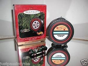 Hallmark Keepsake Ornament -Hot Wheels Jet Threat Car with Case,Holiday Ornament