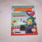 Nintendo Power,Lemmings,Vol.37, and  Loose Poster