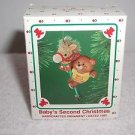 "Hallmark ""Baby's Second Christmas"" 2nd Holiday Ornament,Christmas Ornament"