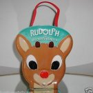 Rudolph The Red-Nosed Reindeer,Carlton Cards,Ornaments w/Carrying Case.New!!