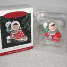 Hallmark Keepsake FROSTY FRIENDS 1995 Christmas Holiday Ornament  NIB