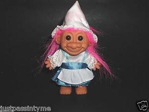 Russ,Dutch Girl Troll Doll,Pink Hair