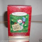 "Hallmark ""Millennium Snowma'am"" Holiday Ornament,Christmas Ornament"