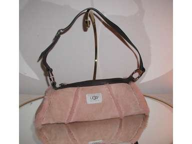 Ugg Australia Sundance Rip Shearling Powder Pink Shoulder Bag