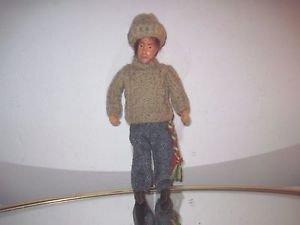 "Vintage Handmade Irish Collectors Character 7"" Doll  by JAY of Dublin"