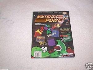 Nintendo Power,Tetris Attack,Vol.87 With Poster
