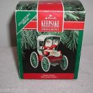 "Hallmark ""Festive Surrey Here Comes Santa"" Holiday Ornament,Christmas Ornament"