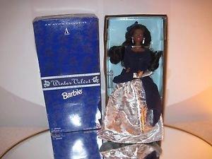 Barbie Winter Velvet Mattel/Avon Special Edition African American 1st in Series