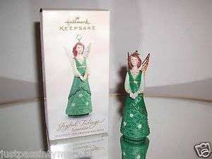 "Hallmark Keepsake,""Joyful Tidings Esmeralda"" Holiday Ornament,Christmas Ornament"