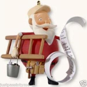 "Hallmark"" Honey-Do Santa "" Holiday Ornament,Christmas Ornament"