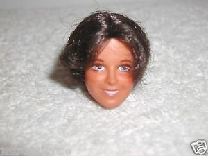 "Vintage 1977 DOROTHY HAMILL DOLL HEAD  For 11"" Ideal Doll"