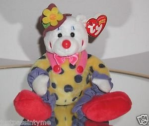 TY JUGGLES the CLOWN BEANIE BABY New With Tags