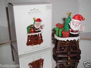 "Hallmark Keepsake, ""Hide ""n"" Peek"",Interactive,Magic,Sound & Motion,Ornament NIB"