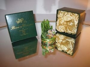 """""""WIZARD OF OZ"""" DEPARTMENT 56 BEJEWELED COLLECTION EMERALD CITY TRINKET BOX"""