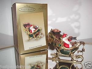 "Hallmark Keepsake, Club Exclusive,Santa"" Plotting the Course"" Christmas Ornament"