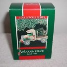 "Hallmark ""Wooden Truck 1989"" Holiday Ornament,Christmas Ornament"