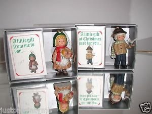 Bradford Novelty Co,Ornaments, A Little Gift at Christmas Just For You,Boy &Girl