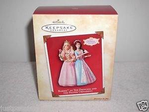 "Hallmark""Barbie,The Prince & The Pauper Ornament "" Holiday Ornament,Christmas"