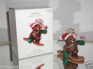 """Hallmark Keepsake, """"Up for Fun,Nick & Christopher"""" Holiday / Christmas ornament"""