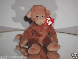 Ty  Beanie Baby Bongo,3rd Generation Hang Tag-Tan Tail