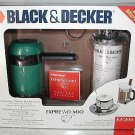 EXPRESSO MIO,Espresso Beverage Kit by Black & Decker,Microwave,Fast & Easy! NIB