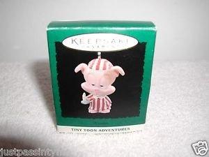 """Hallmark """"Tiny Toon Hamton"""" Holiday Ornament,Christmas Ornament"""