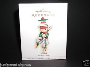 "HALLMARK KEEPSAKE ORNAMENT~ THE MERRY BAKERS ""WHISK"" New In Box"