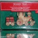 Hallmark Keepsake Ornament, 1985 Wooden Train,2nd In Collector's Series