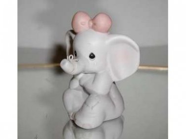 """Precious Moments, Birthday Series,""""HOW CAN I EVER FORGET YOU"""" Figurine w/box"""
