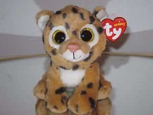 Ty Original Beanies Freckles Sparkle Eyes Leopard Beanie Baby